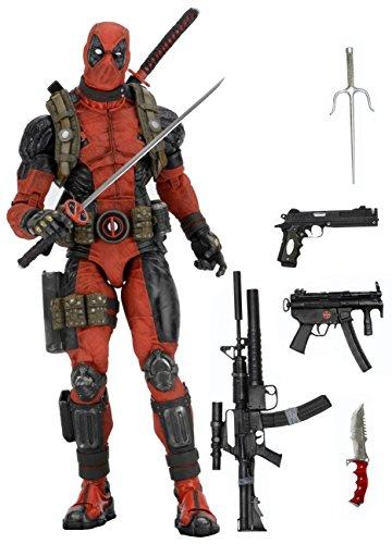 NECA Marvel Classics Deadpool 1/4 Scale Action Figure
