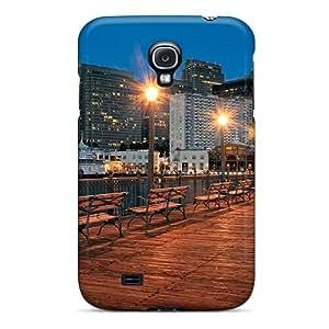 Case Cover San Francisco Pier/ Fashionable Case For Galaxy S4