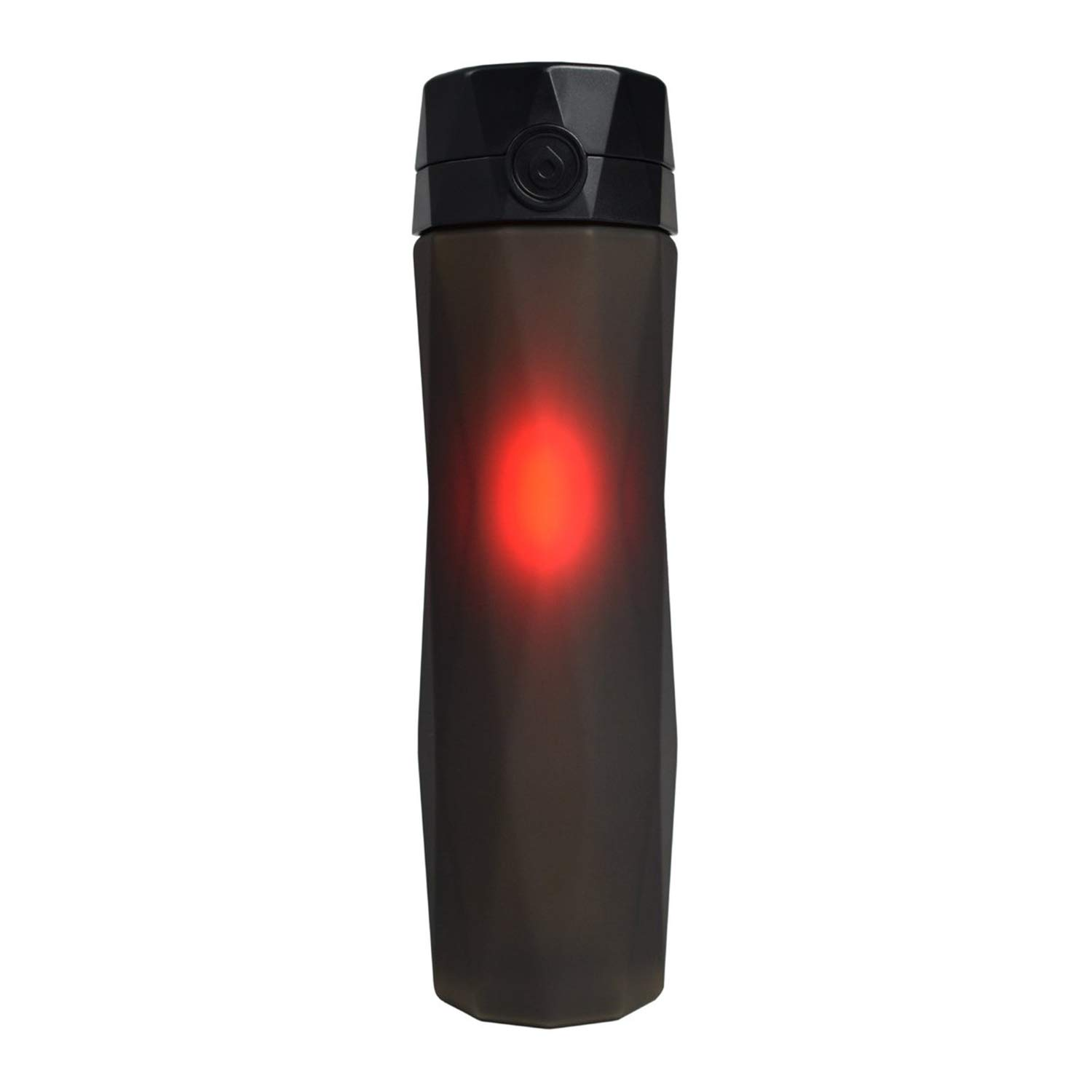 Hidrate Spark 2.0A Smart Water Bottle - New & Improved - Tracks Water Intake & Glows to Remind You to Stay Hydrated (Black)