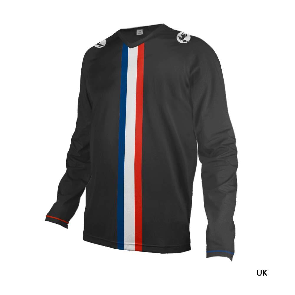 Uglyfrog Cycling Equipment /& Accessories Outdoor Motorcycle Motocross MTB Bike Cycling Jersey Mens Downhill Short//Long Sleeve T-Shirt Summer//Spring//Autumn Wear