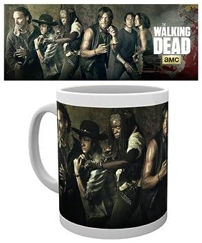 The Walking Dead Season 5 AMC daryl rick micheonne oficial nuevo Boxed Jarra: Amazon.es: Hogar