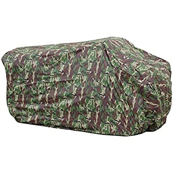 Hersent Camouflage Waterproof ATV Cover Heavy Duty Durable Universal Waterproof Wind-Proof UV Protection for Most Quads HZC13