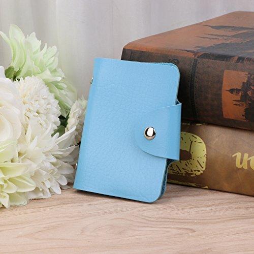 Cuir 24 Bleu Titulaire monnaie Simplelife Poche Id La Crédit De Véritable En Portefeuille Pour Visite Femmes Fentes Hommes Carte Porte aHHnYx1