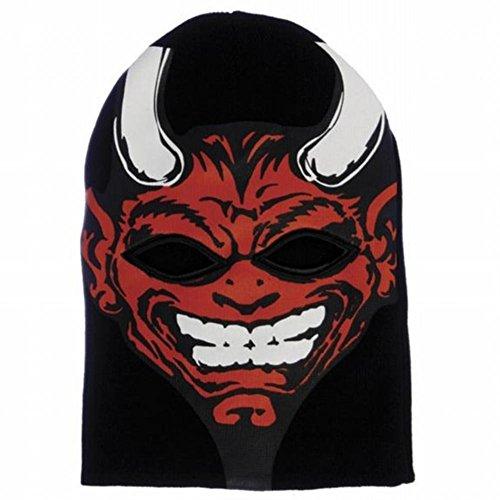 Rob Zombie - Mens Rob Zombie - Devil Ski Mask Black