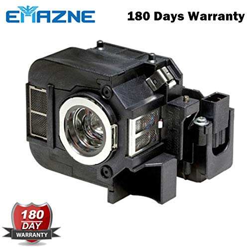 Emazne ELPLP50/V13H010L50 Projector Replacement Compatible Lamp With Housing For Epson 84+ Epson EB 824 Epson EB 824H Epson EB 825 Epson EB 825H Epson EB 826 Epson EB 826W Epson EB 826WH Powerlite 84+