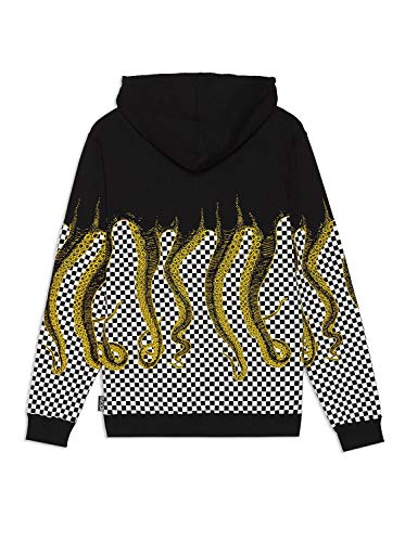 Octopus Black Black Checker Octopus Yellow Yellow Checker Checker Hoodie Black Hoodie Yellow Hoodie Octopus C5nwqzx1T