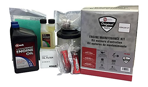 Series Filter Maintenance Kit Oil - Exmark OEM Engine Maintenance Kit for Kohler ZT Series Motors