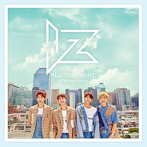 LOEN Entertainment IZ - All You Want (1st Mini Album) CD+2 Photocard+Sticker