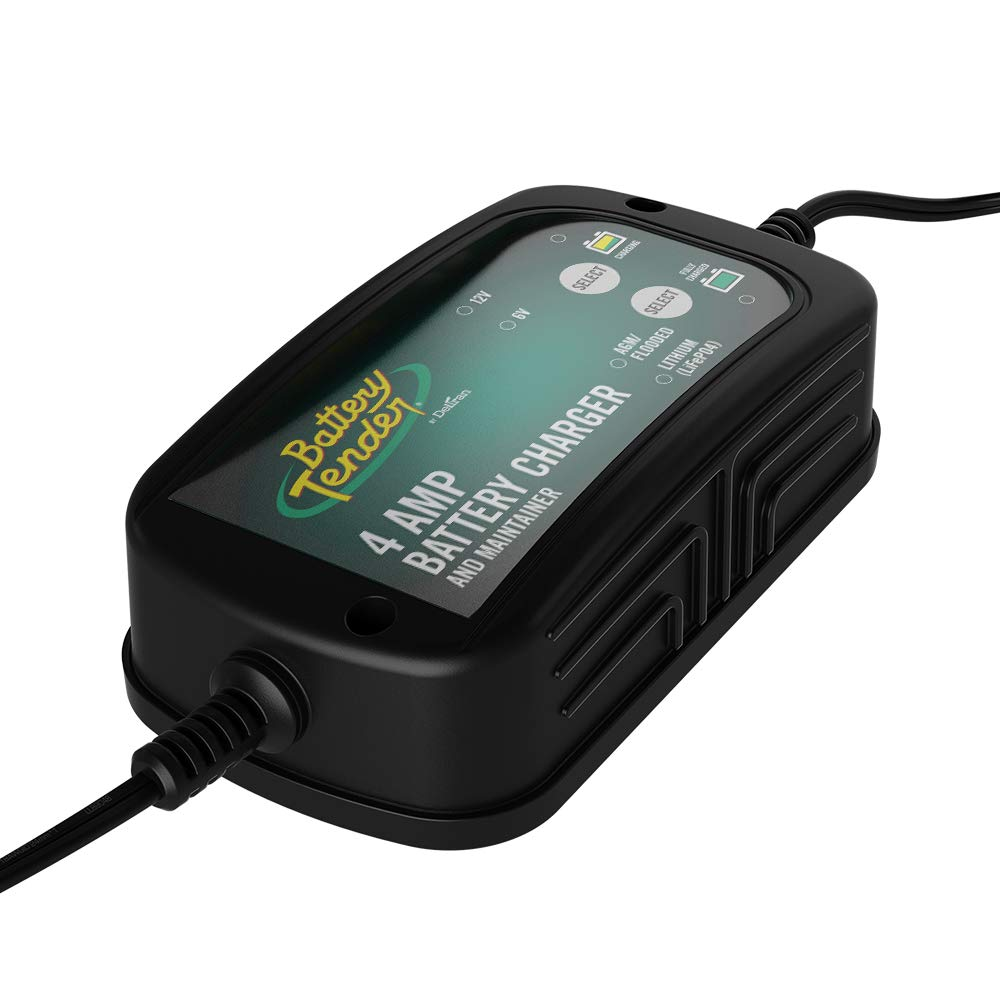4A Selectable Lead Acid /& Lithium Battery Charge Battery Tender 6V//12V