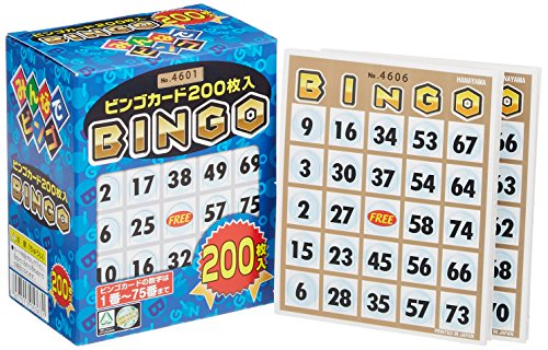 Bingo card 200 (japan import) -