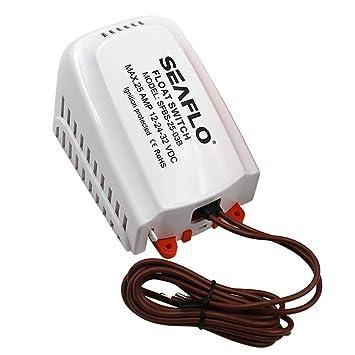 NON Sharplace Interruptor de Flotador de Bomba de Achique Automático 12V / 24V / 32V 25 Amperios: Amazon.es: Deportes y aire libre