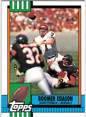 1990 Topps Nfl Card - 1990 Topps with Traded Cincinnati Bengals Team Set with Boomer Esiason & Ickey Woods - 20 Cards