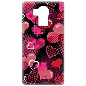 Huawei Mate 8 Valentine Hearts Seamless Pattern Design Case - Multi Color