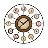 Hamptons Collection 8 Ball Wall Clock