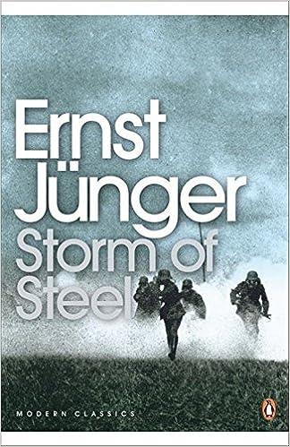 Book Modern Classics Storm of Steele (Penguin Modern Classics) by Ernst Junger (2004-08-03)