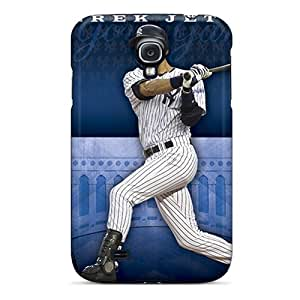 Durable Cell-phone Hard Covers For Samsung Galaxy S4 (bKl25971arnj) Unique Design Vivid New York Yankees Skin