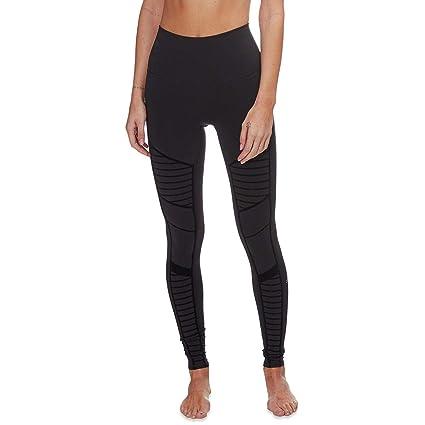 86c084fa48 Amazon.com: Alo Yoga Flocked High-Waist Moto Legging - Women's: Clothing