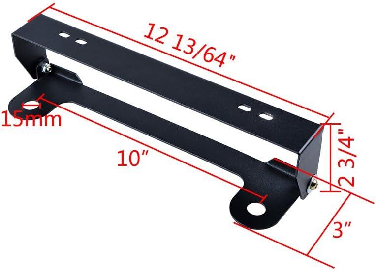 Astra-Depot Universal Flip-Up Hawse Fairlead Mounted License Plate Holder Mounting Screw Kit