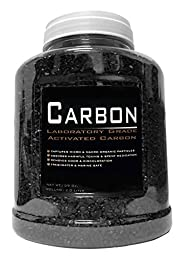 39 Ounce Premium Laboratory Grade Super Activated Carbon with Free Media Bag Inside