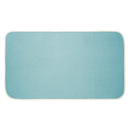 mDesign Soft Microfiber Non-Slip Bathroom Mat/Rug for Bathro