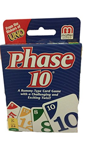 PHASE 10 CARD GAME (Phase 10 Twist)