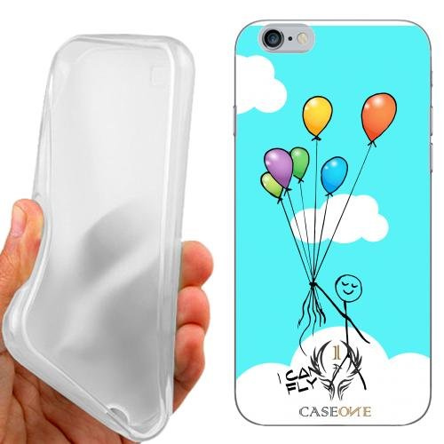 CUSTODIA COVER CASE CASEONE I CAN FLY PER IPHONE 6S