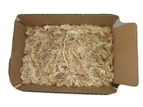 (4.5 ounces of New Zealand Sphagnum Moss)