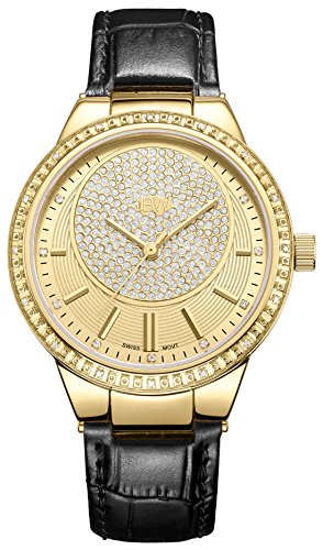JBW Women's Camille 0.16 ctw Diamond 18k gold-plated stainless-steel Watch J6345C