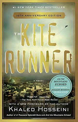 Book cover from The Kite Runner by Khaled Hosseini