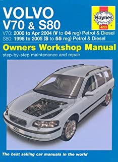volvo v70 s80 haynes publishing 9780857339072 amazon com books rh amazon com 2005 volvo s80 service manual 2005 volvo s80 repair manual
