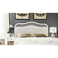 Safavieh Home Collection Sephina White Rattan Headboard (Queen)