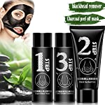 Blackhead Remover Mask [Removes Blackheads]-Black Peel off Mask for Face and Nose-Charcoal Peel off Mask- Best Mud Facial Mask -Purifying Peel-off Acne Treatment Mask