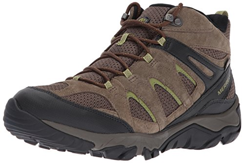 Merrell Men's Outmost Mid Vent Waterproof Hiking Boot, Boulder, 11.5 M US