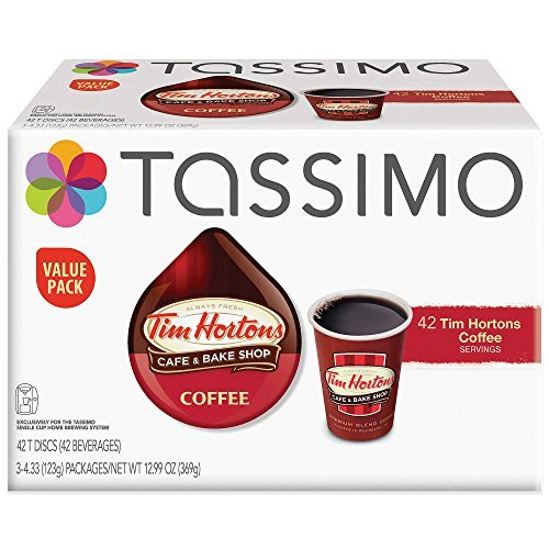 Tim Hortons™ 42-Count Coffee T DISCs Value Pack for Tassimo™ Beverage System For Sale
