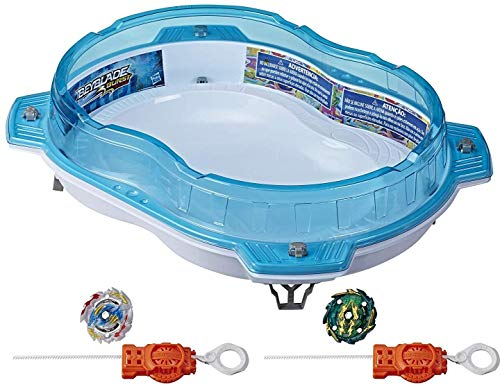 BEYBLADE Burst Rise Hypersphere Vertical Drop Battle Set -- Complete Set with Beystadium, 2 Battling Top Toys & 2 Launchers, Ages 8 & Up