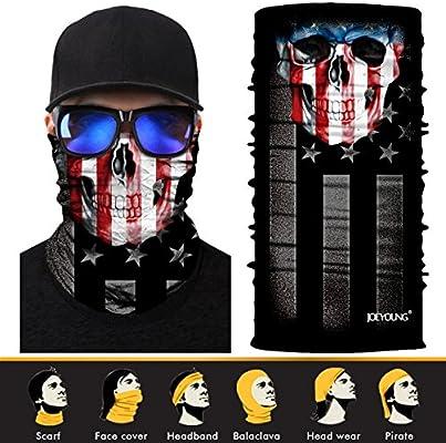 Máscara facial para el sol, efecto 3D, para el cuello, gorra para ...