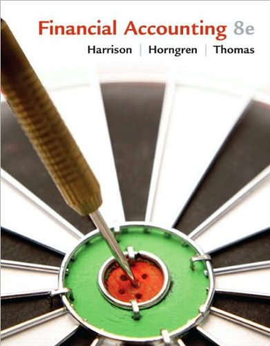 W. T. Harrison's,C. T. Horngren's, B. Thomas's 8th(eight) edition(Financial Accounting (8th Edition) (Hardcover))(2009)