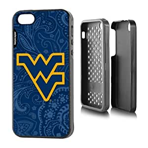 West Virginia Mountaineers iPhone 5 & iPhone 5s Rugged Case Paisley NCAA