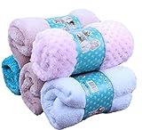 Crazy Shop OUUD Soft Fleece Winter Warm Pet Bed Blankets Bath Towel for Dog Puppy Cat (Random Colour,1PC) (S) For Sale