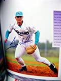 1993 Florida Marlins Yearbook autographed by 7 players including Trevor Hoffman, Jeff Conine, Walt Weiss