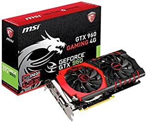 MSI Gaming GTX 960 4GB OC Twin Frozr-V HDCP Ready SLI Support (GTX 960 Gaming 4G)