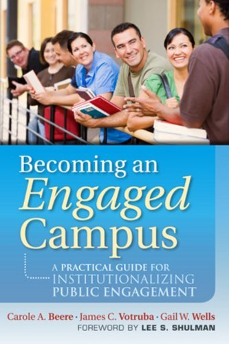 Download [ Becoming an Engaged Campus: A Practical Guide for Institutionalizing Public Engagement (Jossey-Bass Higher and Adult Education (Hardcover)) - Greenlight By Beere, Carole A ( Author ) Hardcover 2011 ] pdf epub