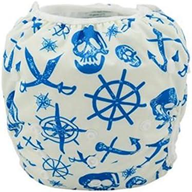 Aris bebé Calidad Premium, gamuza de resistente al agua reutilizables Swim Pañales, ajustable Bebés y Niños 6 – 30 libras, unisex colores niños y niñas: Amazon.es: Bebé