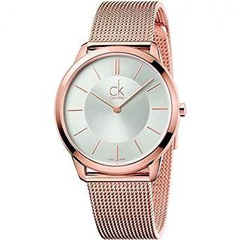 Calvin Klein Reloj Analogico para Hombre de Cuarzo con Correa en Acero Inoxidable K3M21626: Amazon.es: Relojes
