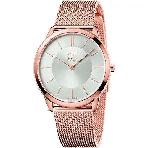 Calvin Klein Reloj Analogico para Hombre de Cuarzo con Correa en Acero Inoxidable K3M21626
