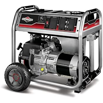 Briggs & Stratton 30469, 6000 Running Watts/7500 Starting Watts, Gas Powered Portable Generator