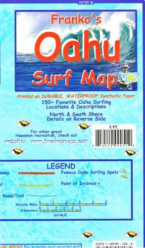 Franko's OAHU Surf Map