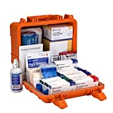 First Aid Only 90758 ANSI B 24 Unit First Aid Kit with Waterproof Case