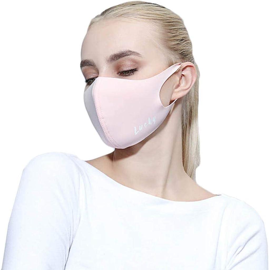 Zolimx Anti Verschmutzung Pollen Staub Mehrweg Mundschutz f/ür Radfahren Reiten Staubdicht Outdoor Frauen Waschbar Wiederverwendbare Schutz Drucken Gesichtsschut