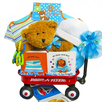 Something Special for the New Arrival | Baby Gift Wagon (Boy)